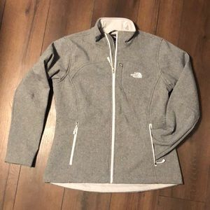 The North Face Heather Grey APEX Jacket